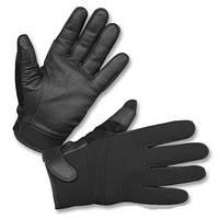 Тактические перчатки Neopren/Kevlar, Black. Mil-tec, Германия.