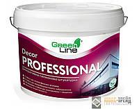 ТМ Green Line DecorProfessional «Камешковая»  силиконовая штукатурка (Камень 2,0; 2,5 мм),25 кг.
