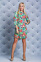 Стильная женская платье Цветы