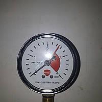 Манометр давления для воды на 4 АТМ