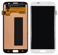 LCD+Touch Samsung G935FD Galaxy S7 Edge white