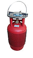 """«Rudyy®» Газовый комплект Rk-5 (3,0kw) """"Пикник-Italy"""" 12,5 литров"""