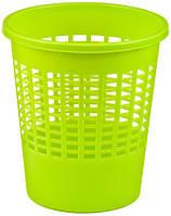 Корзина для бумаги зеленая на 10 л Basic Curver 202298