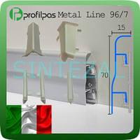 Соединительные элементы плинтуса Profilpas Metal Line 96/7.