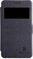 Чехол Nillkin Samsung G350 Galaxy Star Advance Fresh Series Leather Case Black черный