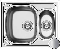 Кухонная стальная мойка (70*50*18 cм) Galati Fifika 1.5C Textură 4017