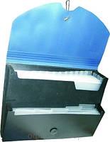 Папка-конверт А4  на липучці,4 відділення