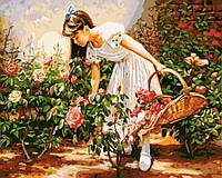 Картина по номерам Розарий GX8848