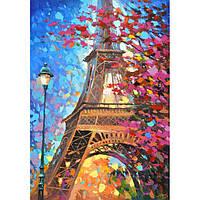 Картина по номерам Идейка Париж весной КНО2129
