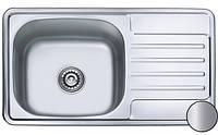 Кухонная стальная мойка (78х43,5х17 см) Galati Milana Satin 8493