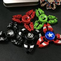 Hand spinner (хенд спиннер) - игрушка антистресс,металл,виды супергерои