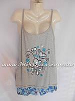 Пижама женская большие размеры купить оптом со склада 7км