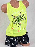Комплект женский  майка+шорты  80678-3