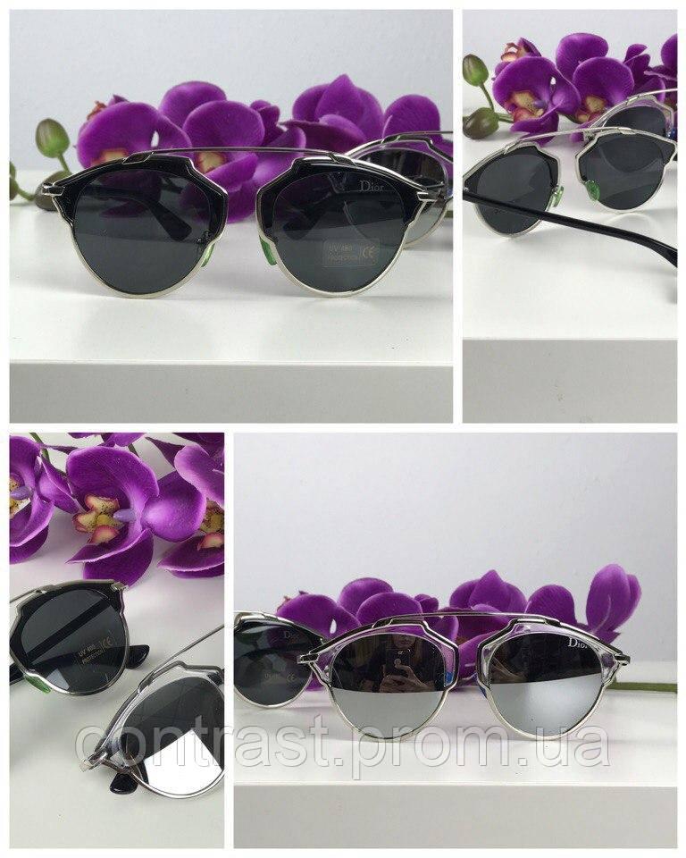 Трендовые очки-оверсайз с деструктурированной оправой pantos (черная линза)
