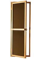 Дверь для сауны Bravo Sateen