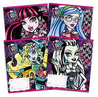 Тетради «Monster High--Любимые герои» 12 листов, линия