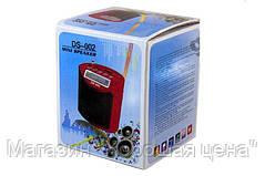 Портативная FM MP3 колонка DS-002, фото 2