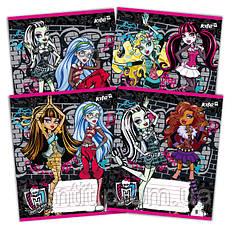 Тетради «Monster High» 18 листов, линия
