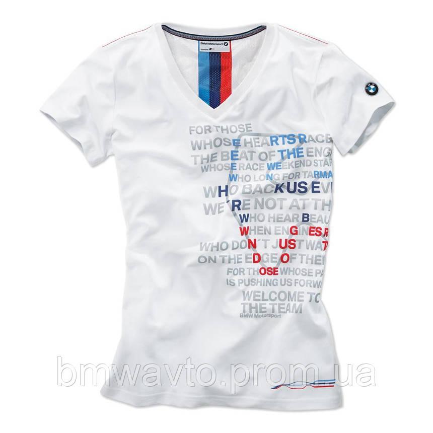 Женская футболка BMW Motorsport Graphic T-Shirt, ladies, фото 2
