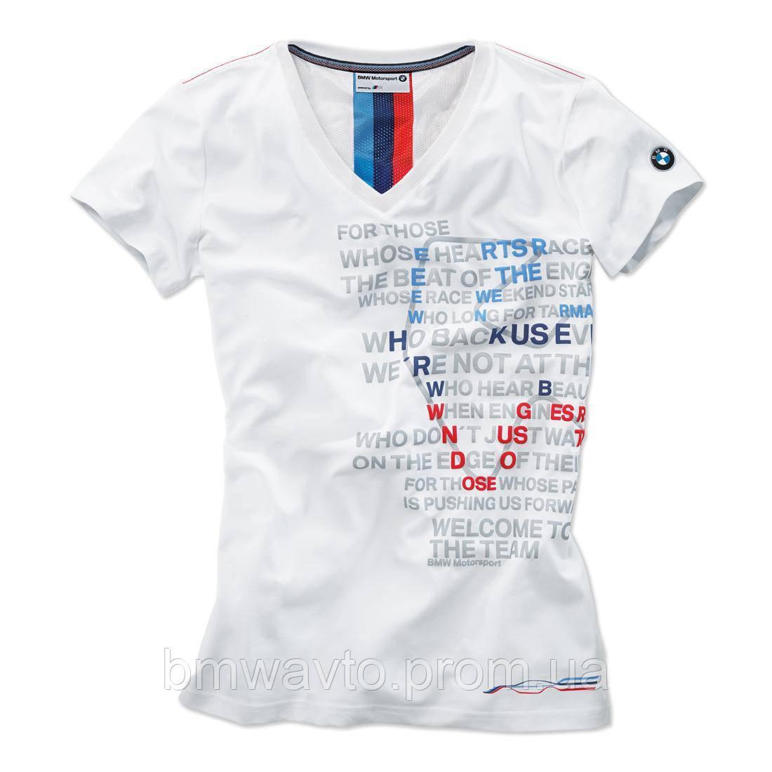 Женская футболка BMW Motorsport Graphic T-Shirt, ladies