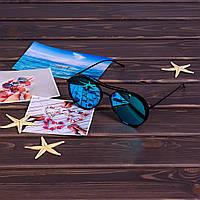 Голубые солнцезащитные очки 1838K-4