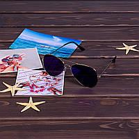 Cиние солнцезащитные очки 3026-3 купить очки авиаторы оптом