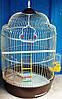 Круглая клетка для небольших попугаев. (Лилу) D33*56,5см