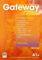 Книга для учителя Gateway 2nd edition A1+ Teacher's Book Premium Pack