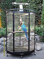 Вольер Угловой для птиц. (Zolotaya Kletka)