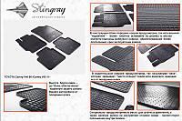 Комплект резиновых ковриков Camry 2007-2013 (4шт)