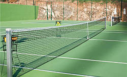 Сетка для большого тенниса D-3,5 мм, яч.50 мм