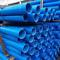 Труба для скважин обсадная д.140\3м (6,7) Синяя - Инсталпласт-ХВ