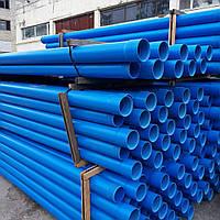 Труба для скважин обсадная Мпласт д.110\3м (5,0мм) Синяя