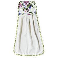 Полотенце на ручку духовки Прованс 56х36 Садовые цветы