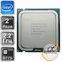 Процессор Intel Pentium Dual Core E2200 (2×2.20GHz/1Mb/s775) б/у