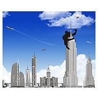 """Наклейка Виниловая 3D """"В Нью-Йорке"""", 100*120см"""