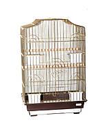 ЗОЛОТАЯ Клетка для попугая 46*36*71см