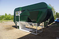 Сепараторы зерна с циклонно-осадочным комплексом