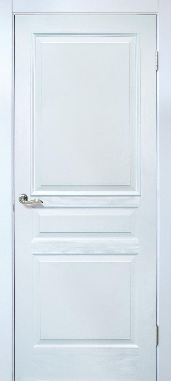 Двери Омис Барселона ПГ ПВХ белый