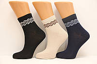Стрейчевые женские высокие носки из бамбука STYLE LUXE Ф8