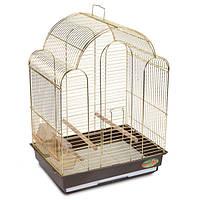 Клетка для попугая. (Ротвис-Тюльпан)42*30*56см (золото), фото 1