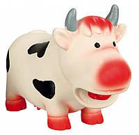 Игрушка Trixie Cow для собак латексная, корова, 19 см