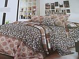 Красивые двухспальные комплекты из хлопка., фото 3
