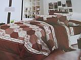 Красивые двухспальные комплекты из хлопка., фото 4