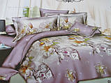 Красивые двухспальные комплекты из хлопка., фото 7