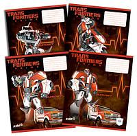 Тетради «Transformers» 12 листов, линия
