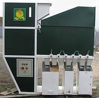 Сепараторы для чистки и калибровки зерна открытого типа