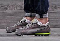 Качественные мужские кроссовки, кроссовки в стилеPuma Roma