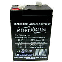 Аккумулятор свинцово-кислотный Energenie  6-4.5 (6V,4.5Ah)