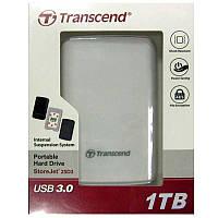 """Портативный жёсткий диск  HDD.1.0Tb Transcend TSJ25D3W USB3.0 SJ2.5"""""""